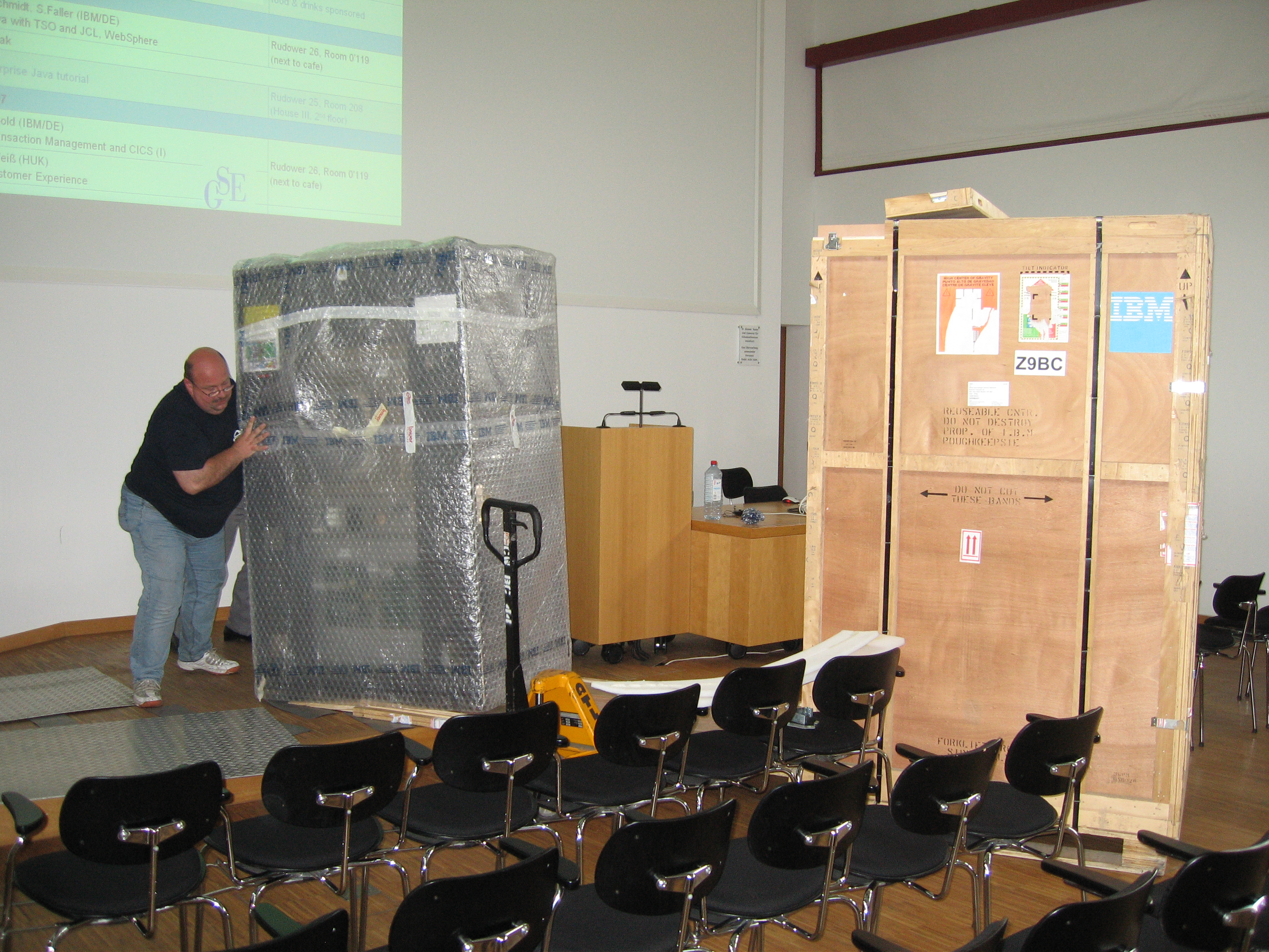 Mainframes Today - Special Lecture - SoSe 2007 - Systems